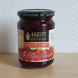 Confiture 4 fruits rouges...